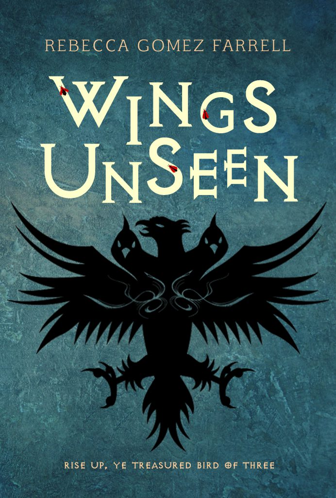 wings unseen rebecca gomez farrell meerkat press cover fantasy