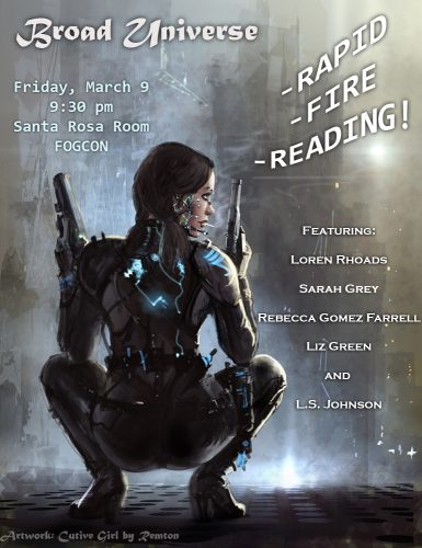 Broad Universe Rapid Fire Reading FogCon